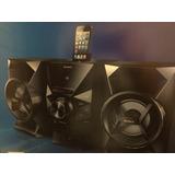 Sistema Sonido Estéreo Sony 120 W Usb Iphone Cd Mp3
