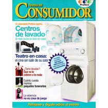 Revista Del Consumidor - Centros De Lavado, Teatro En Casa