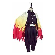 Sword Valley Cosplay Costume Rengoku Kyoujurou Kimono Outfit