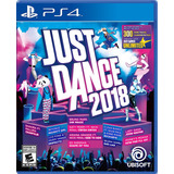 Just Dance 2018 Ps4 Play Station 4