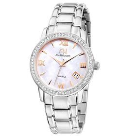 b32ce6972bd Relogio Ana Hickmann Prata Ah20033s - Relógios De Pulso no Mercado ...