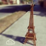 Torre Eiffel Mdf 55 Cm Corte Laser, Mdf, Boda, Fiestas, Amor
