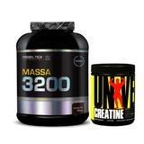 Massa 3200 Anticatabolica 3kg + Creatina Universal 200g