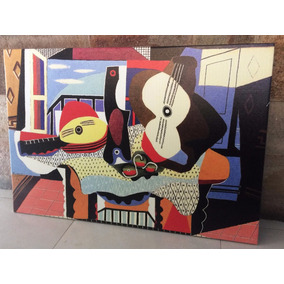 Cuadros Pablo Picasso En Tela Canvas Con Bastidor 50x60