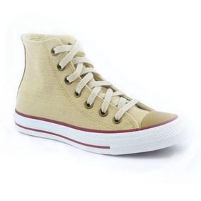Zapatillas Mujer Converse Ct As Linen Hi Natural