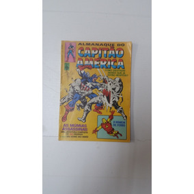 Almanaque Capitao America Nº 34 Editora Abril 1982
