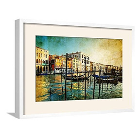 Artedge Amazing Venice-obra De Arte En Estilo Pintura Con M