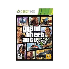 Grand Theft Auto V 5 Gta 5 Mídia Física Novo Xbox 360