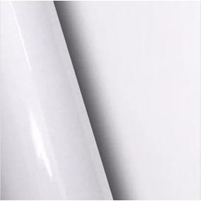 1- Adesivo Brilhante Branco 1,00x10m + Espátula Grátis
