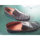 Zapatos Clarks De Cuero Poco Uso Talla 42 - 42.5 Oferta