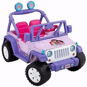Carro Eléctrico Jeep Dora La Exploradora Fisher Price