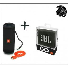 Kit Jbl Flip 4 + Jbl Go Originais/ Lacradas/ Todas As Cores