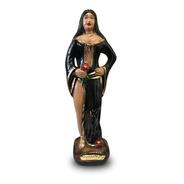 Escultura Pomba Gira Dama Da Noite Imagem Gesso Estatua 20cm