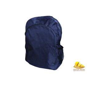 Mochila Escolar Azul Marinho A Pronta Entrega*mega Promoção*