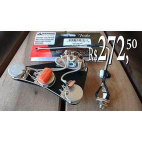 Kit Fender Strato The Best Com Shield Plate E Orange Drop