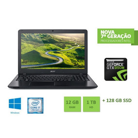 Notebook Acer Intel Core I7 7ª Geracao 8gb Ram 1tb Hd Nvidia