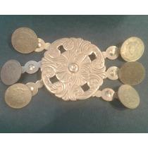 Rastras Alpaca Platadas Criollo Monedas Replica Precio X C/u