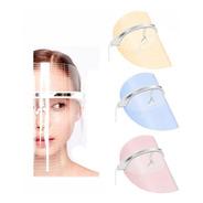 Mascara Led Facial Tratamiento Anti Acne 3 Luces Fotones