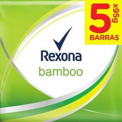 Jabón Rexona Bamboo Bamboo 5pack 475g (95g C/u)