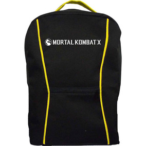 Mochila Mortal Kombat X - Amarela
