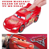 Cars Rayo Mcqueen Maquen, Parlante Deluxe Cars 3