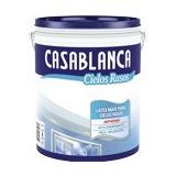 Pintura Latex De Interior Cieloraso 20 Litros Casablanca