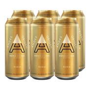 Andes Origen Rubia . Cerveza . 473ml X 6 - Tomate Algo® -