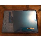 Laptop Lenovo G480 Azul Eléctrico Memoria Sd Usb Cd Quemador