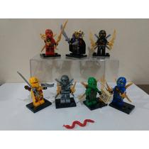 Lego Ninjago Templo Das Cobras - 9 Personagens.