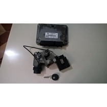 Kit Completo Modulo De Injeção Vw Gol G3 1.0 16v Turbo Orig.