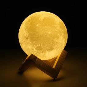 Lampara Luna De Mesa Decoracion Touch Regalo Luz Noche