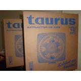 Extractor Aire Taurus Plastico 10 Pulgadas. Nuevo Y Original
