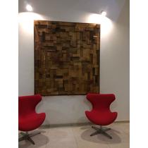 Panel 3d Cuadro Decorativo Organico Moderno Minimalistas