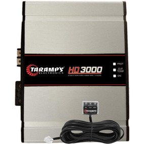 Módulo Amplificador 3000 W Rms Taramps Hd3000 2 Ohm