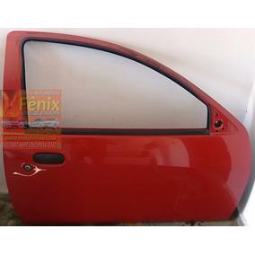 Porta Ford Ka Lado Direito Vermelho 2008 Até 2013