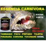 Essencia Carnívoros Feromonio Isca Pesca Piau Pacu Tambaqui