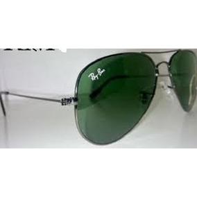 ef9ef8882ecbf Ray Ban 3025 Dourado Com Lentes De Cristal Verdes - Óculos De Sol no ...