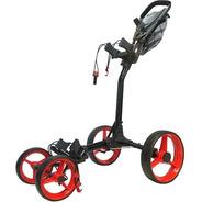 Golf Center Carro Powerbilt 4 Ruedas C/portap Black/red 6c