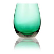 Vaso Cristal Rics Verde Esmeralda X600cc Cristale San Carlos