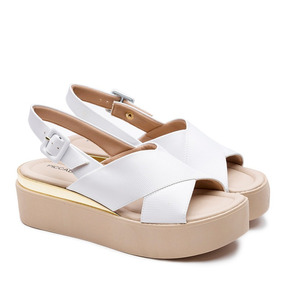 1ae13485b Kathas Calzados - Sandalias de Mujer Blanco en Mercado Libre Argentina