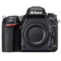 Câmera Nikon D750 Corpo 24 Mpixel Original