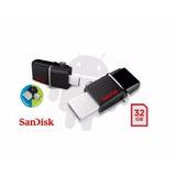 Memoria Usb Sandisk Ultra Dual 32gb Otg 3.0 Pc / Android