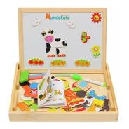 Caja Didáctica Multifuncional Tablero Niños Juguetes