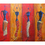Cuadros Negras Africanas - Arte Digital Africano - 19x25