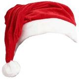 Gorro Para Papai Noel Em Veludo - Temos Roupa Fantasia Natal