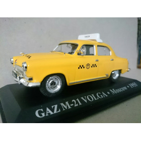 Gaz M-21 Volga - Taxi Moscow 1955 - Táxis Do Mundo - 1:43