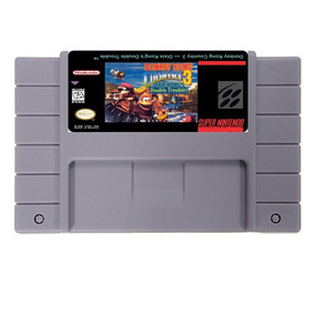 Donkey Kong Country 3 Dk3 Americano Super Nintendo Snes Novo
