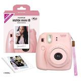 Fuji Instax Mini 8 N Original Pink Correa Conjunto Fujifilm