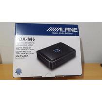 Amplificador Alpine Pdx-m6 Digital 1 Canal 600w + Knob Orig.