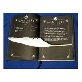 Libreta Death Note Tacto Piel, Ahora Con Pluma Y Envi Gratis